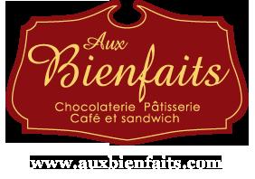 Logo aux bienfaits chocolaterie
